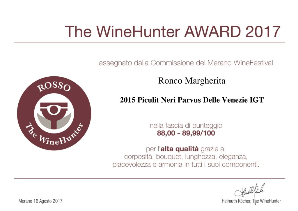 The WineHunter Award Rosso-396170817-1