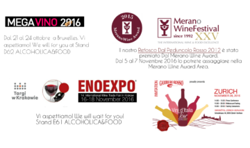 Fall: it's time of… WINE FAIRS!!!!!!!