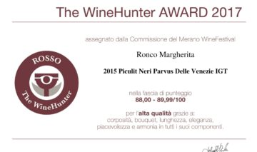 THE WINE HUNTER AWARD 2017